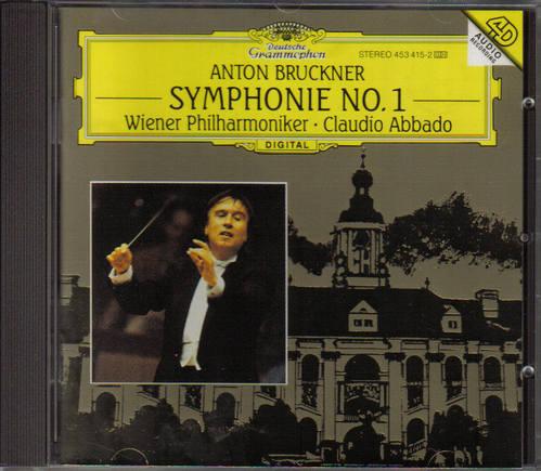 交響曲第1番 ドイツグラモフォン盤