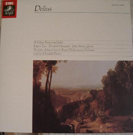歌劇「村のロミオとジュリエット」表紙