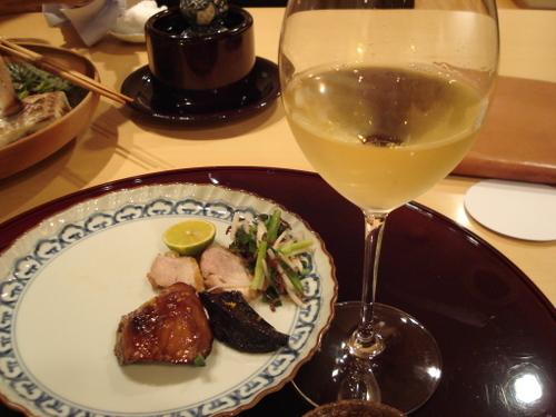 焼き物とワイン