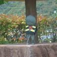 河童の泉で小便こく「鬼太郎」