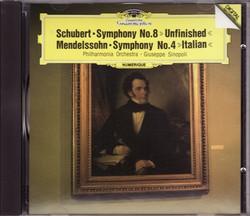 Schubert_sym8_mendelssohn_symp4_sin